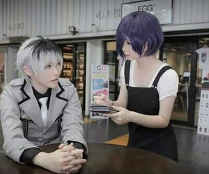 cosplay and tokyo ghoul image