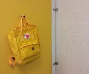 yellow, aesthetic, and bag image