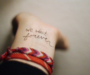 forever, we, and hand image