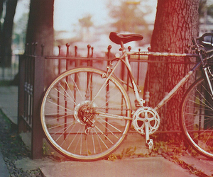 bike, vintage, and photography image