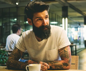 tattoo, hipster, and Hot image