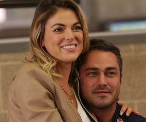 chicago fire, serinda swan, and taylor kinney image