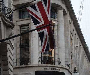 london, flag, and Burberry image