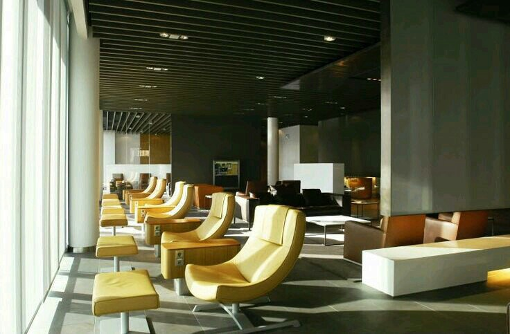 airports, designs, and lounge image