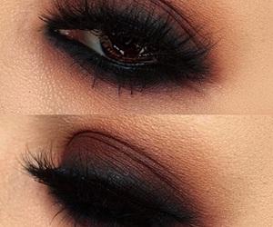 eyeshadow, dark, and eyes image