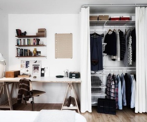 home, room, and closet image