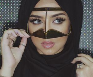 arab, hijab, and islam image