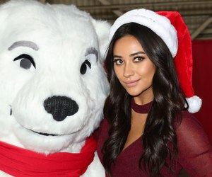 christmas, pll, and shay mitchell image