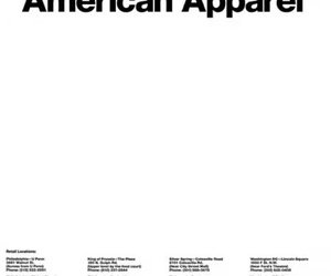 template, american apparel, and edit image