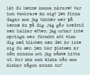 Lyrics, svenska, and swedish image