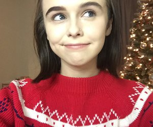 acacia brinley, girl, and christmas image