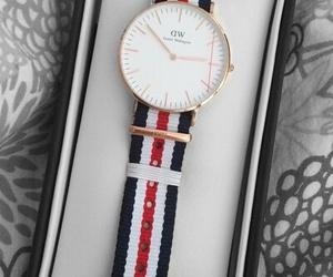 accessory, watch, and daniel wellington image