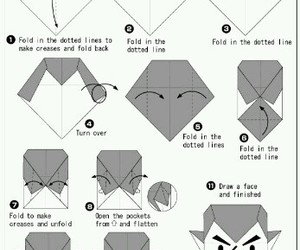 Dracula, origami, and Paper image