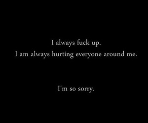 quotes, sorry, and true image