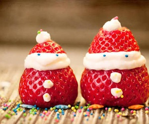 food, strawberry, and cute image