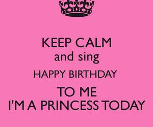 birthday, princess, and happy image