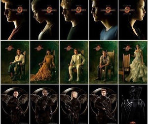 the hunger games, katniss everdeen, and catching fire image