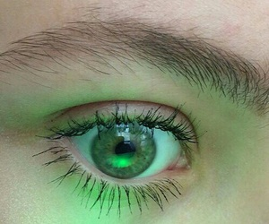 'eyes', 'green', and 'girls' image