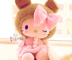 cute, hello kitty, and kawaii image
