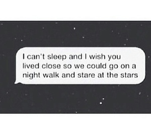 night, quote, and stars image