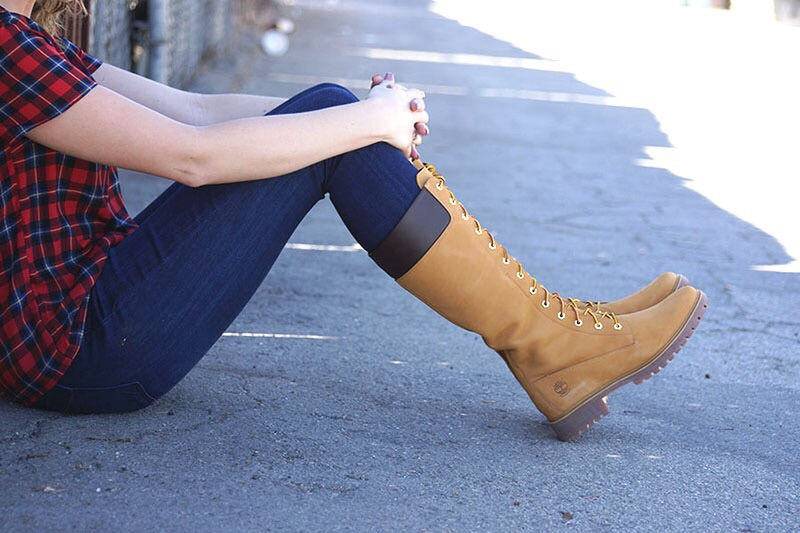 autumn, boot, and boots image