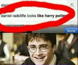 funny, harry potter, and daniel radcliffe image