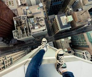 converse, city, and jump image