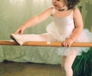 baby and ballet image
