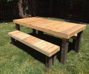 pallet table ideas and farm house furniture image