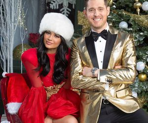 kylie jenner, christmas, and michael buble image