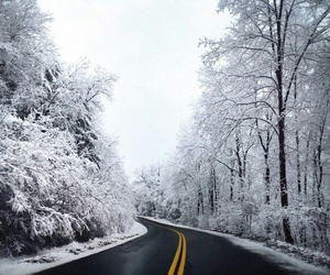 road and winter image