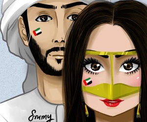 art, cartoon, and national day image