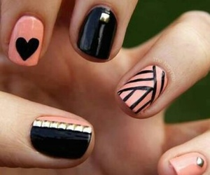 art, geometric, and nails image