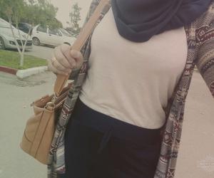 hijab, ستايل حجاب, and fashion+hijab image