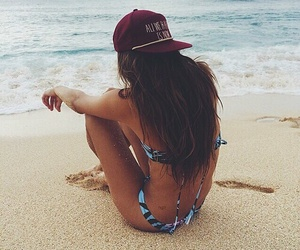 arena, beach, and girl image