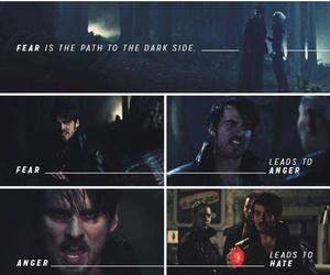 once upon a time and dark hook image