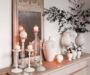 candles, chic, and decor image