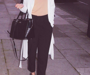 chic, fashion, and white image