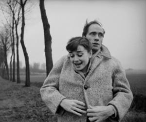 audrey hepburn, love, and couple image