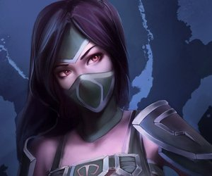 lol, league of legends, and akali image