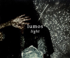 background, harry potter, and lumos image