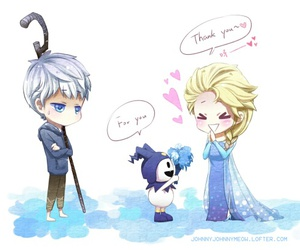 anime, disney, and elsa image