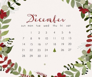 christmas, background, and calendar image