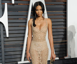 Chanel Iman and dress image