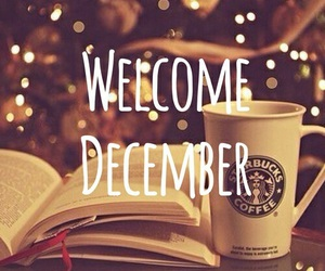 december, christmas, and welcome image