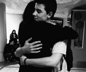 shawn mendes, hug, and fan image