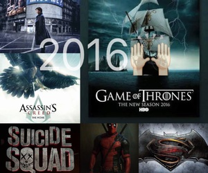 2016, deadpool, and excited image