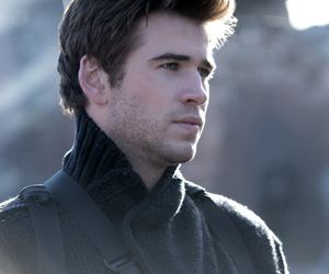 gale, liam hemsworth, and mockingjay image