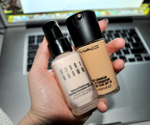 mac, make up, and bobbi brown image