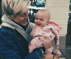 lucky blue smith, baby, and boy image